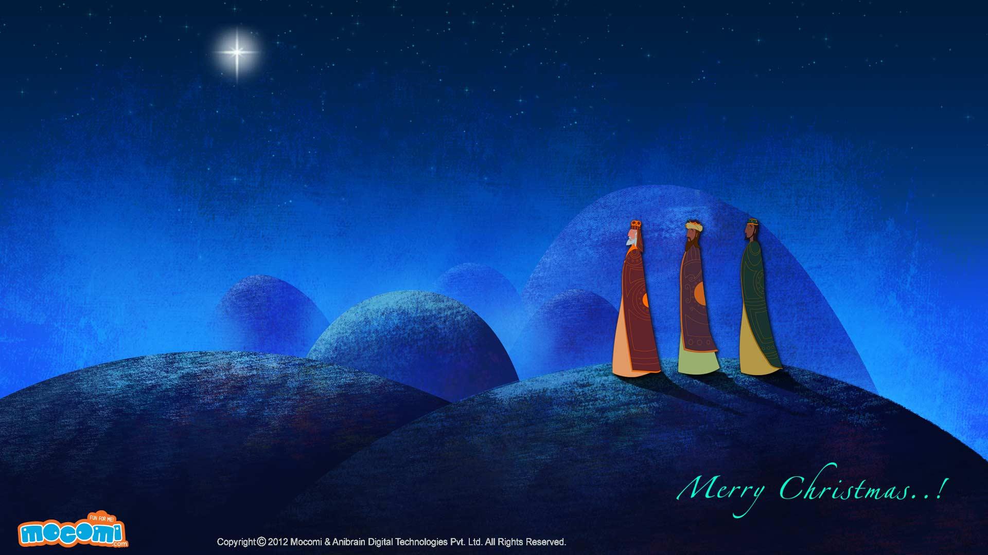 Merry Christmas – Three Wisemen to Bethlehem
