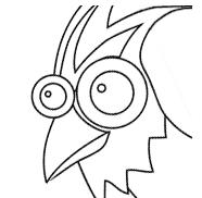Xatu the exotic bird