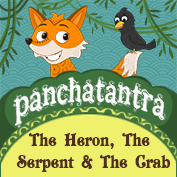 Panchatantra: The Heron, The Serpent and The Crab