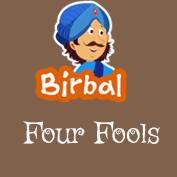 Akbar Birbal: Four Fools