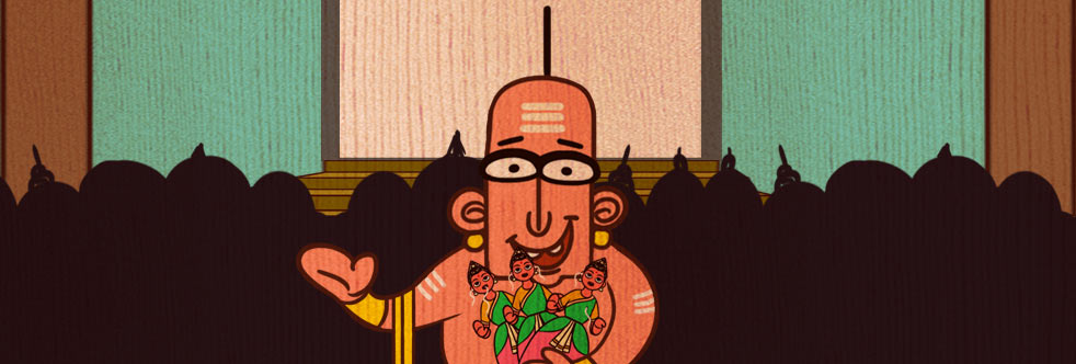 Tenali Raman and the three dolls story slider