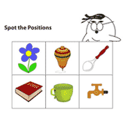 Relative Positions Worksheet