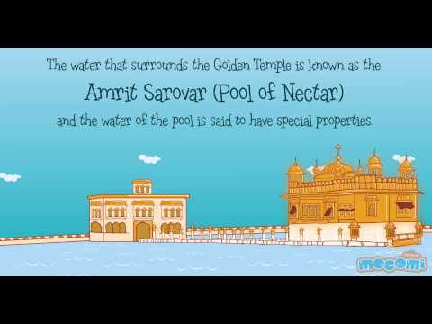 Golden temple history for kids