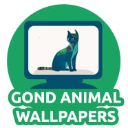 Gond Animal Wallpapers For Kids 02