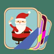 Santa Claus 5 (Printable Card for Kids)