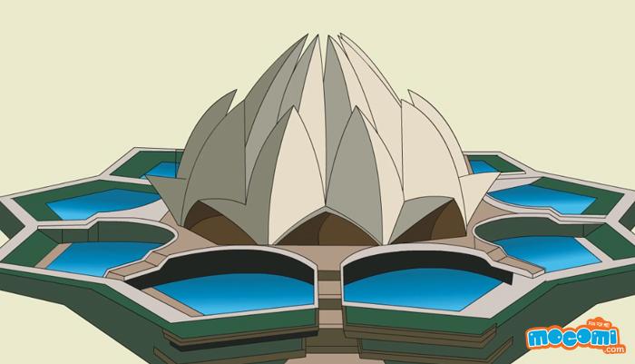 Lotus Temple General Knowledge For Kids Mocomi