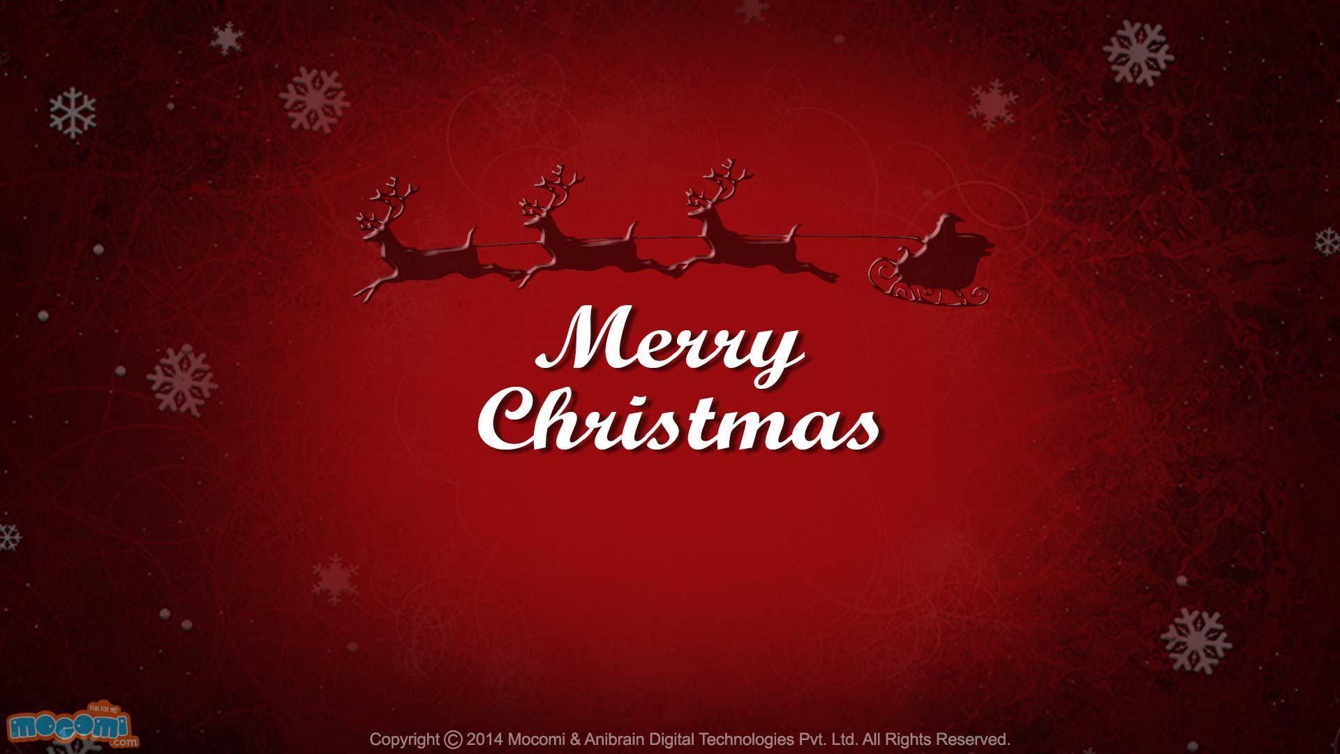 Merry Christmas- Santa's Sleigh 1