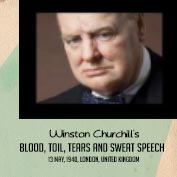 Winston Churchill's Speech