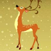 Merry Christmas- Reindeer