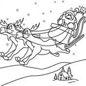 Merry Christmas- Santa's Sleigh