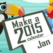 Make a 2015 Calendar