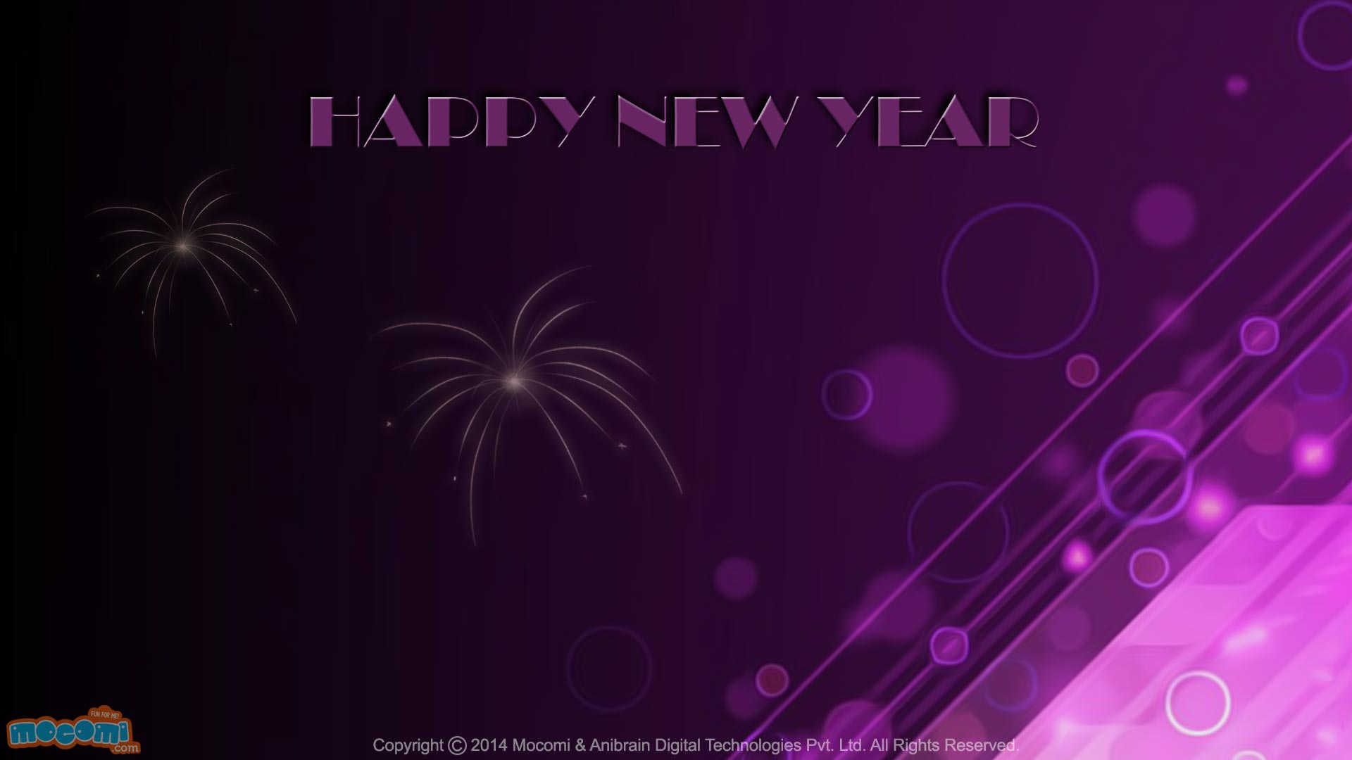 Happy New Year Wallpaper 11  Desktop Wallpaper for Kids  Mocomi