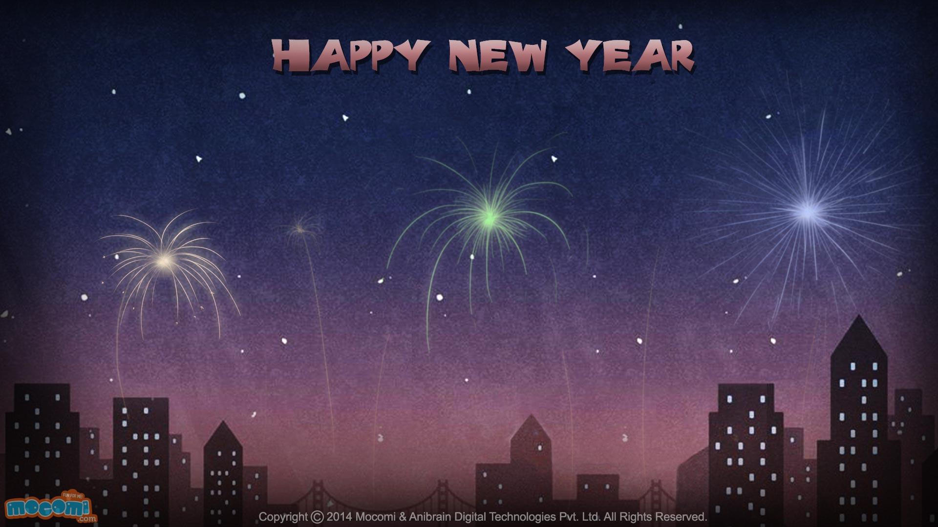 Happy New Year Wallpaper- 12