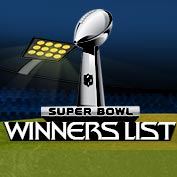Super Bowl Winners List