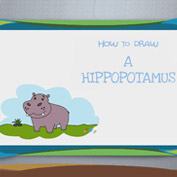 How to Draw a Hippo