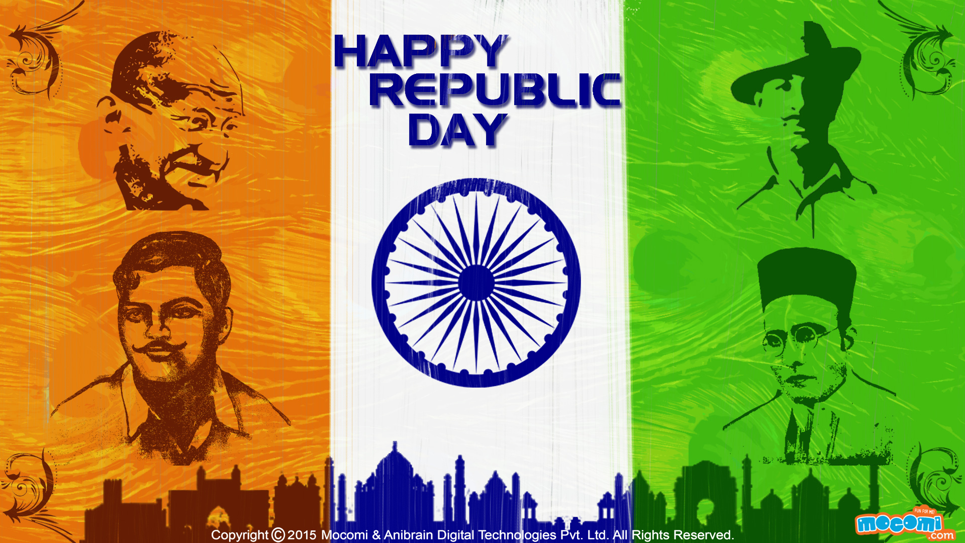 Happy Republic Day Wallpaper-4