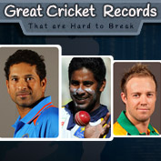 Great Cricket Records That Are Hard To Break