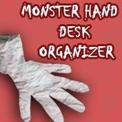 Monster Hand Desk Organizer