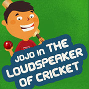 Jojo in the Loudspeaker of Cricket