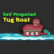 Self Propelled Tug Boat Craft