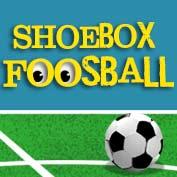 Make a Shoebox Foosball Table Game