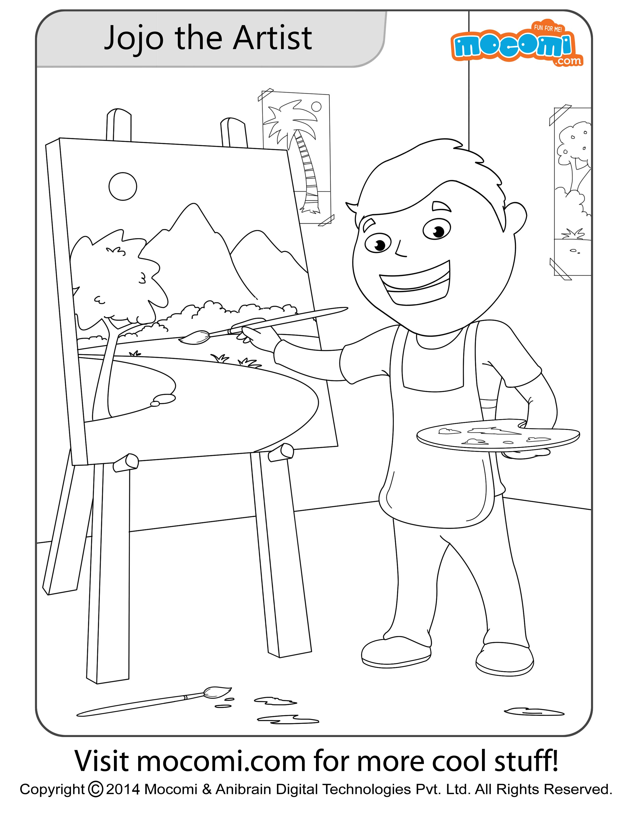 Jojo the Artist