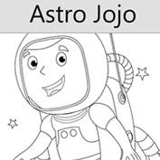 Astronaut Jojo - Colouring Page