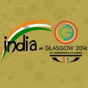 India at the 2014 Commonwealth Games in Glasgow