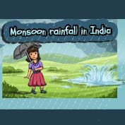 Monsoon Rainfall in India