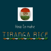 Tiranga Rice Recipe
