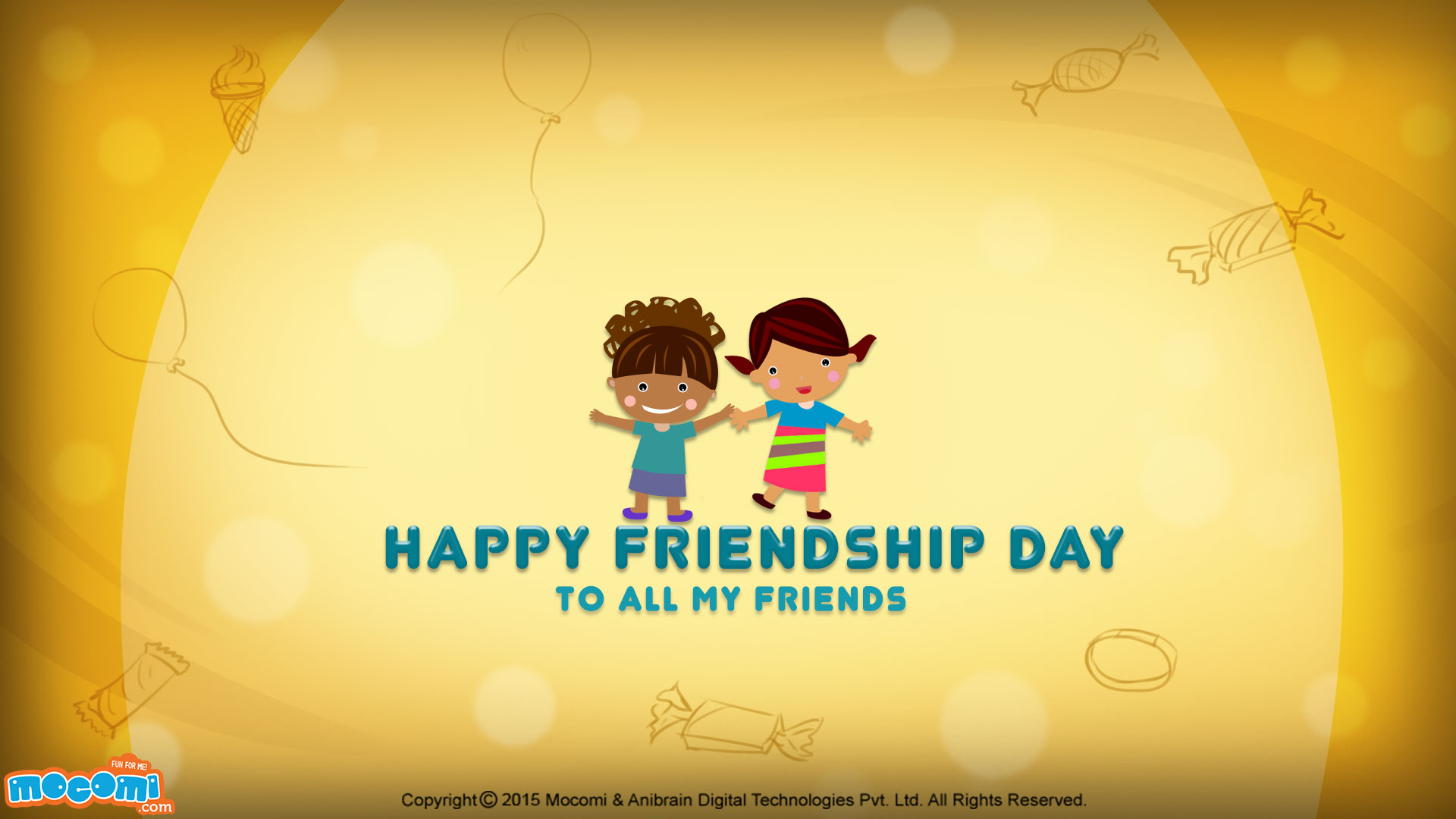 Happy Friendship Day Wallpaper – 02