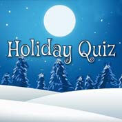 Christmas Holiday Quiz
