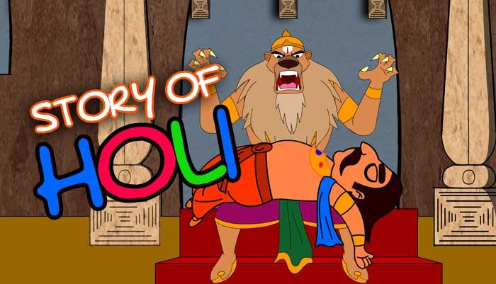 The Story Of Holi Festivals For Kids Mocomi