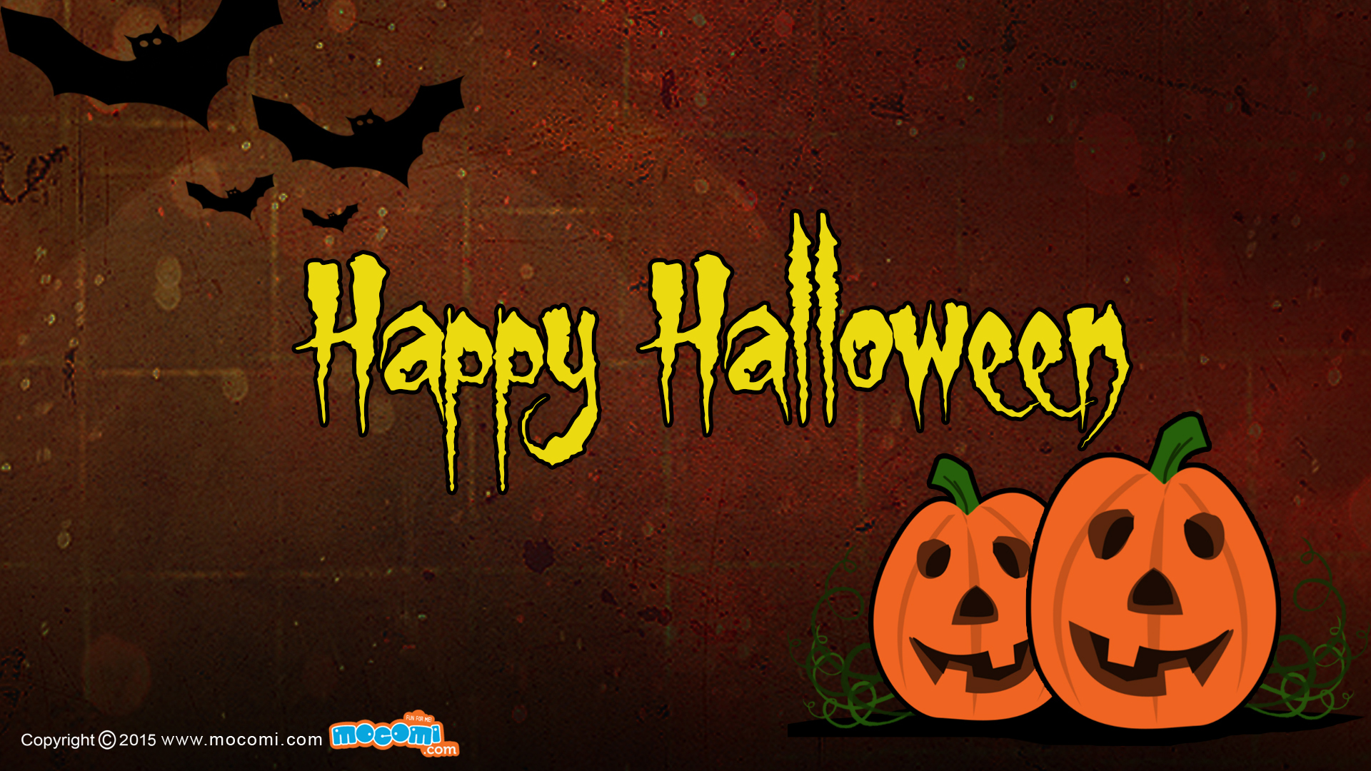 Happy Halloween - 02 - Desktop Wallpaper For Kids