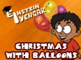 Christmas with Balloons