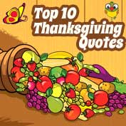 Top 10 Thanksgiving Quotes
