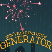 New Year Resolution Generator