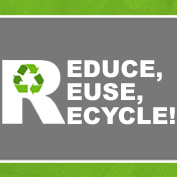 The 3 R's: Reduce Reuse Recycle - hp