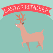 Names of Santa's Reindeer - hp