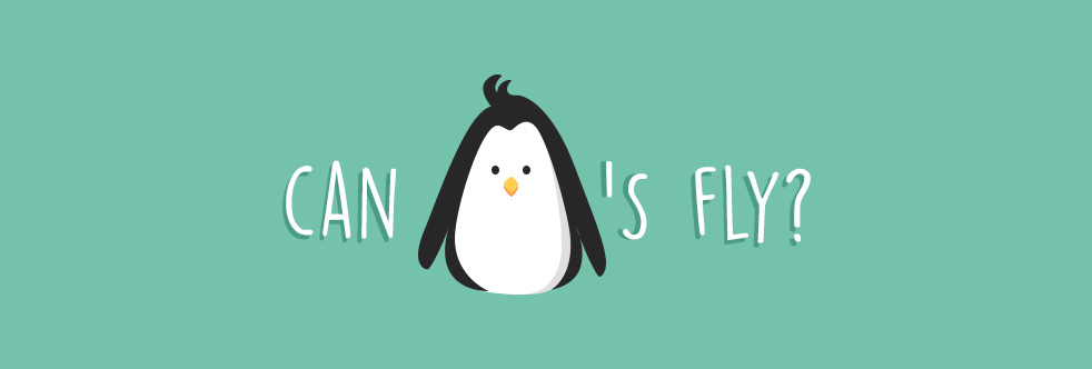 Can Penguins fly? - Slider
