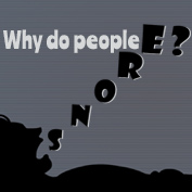 Why do people snore? - hp