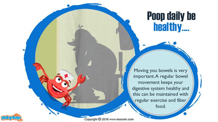 Poop Daily be Healthy!
