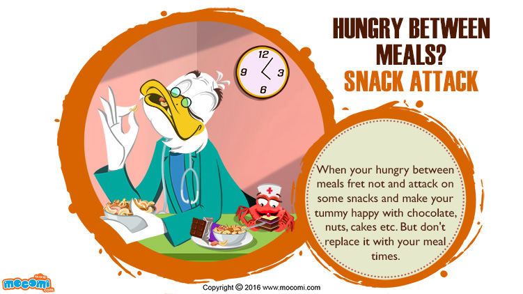 Hungry Between Meals? Snack Attack