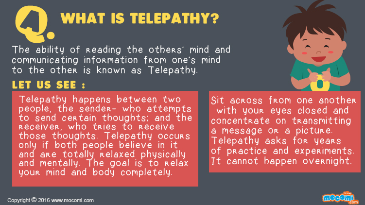What is Telepathy?