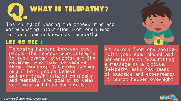 What is Telepathy?