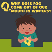 Why does Fog come out of our mouth in winters? - hp