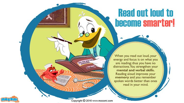 Read out Loud to become Smarter!