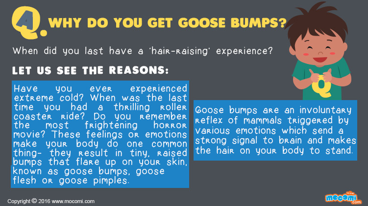 Why do you get Goosebumps?