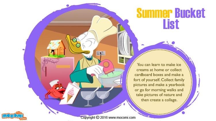 Summer Bucket List!