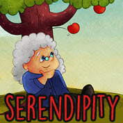 """Serendipity"" What does that mean? - hp"